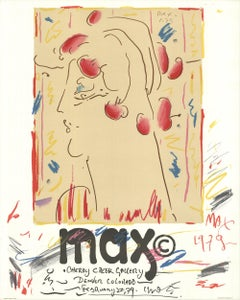 1979 Peter Max 'Cherry Creek Gallery' Multicolor France Lithograph