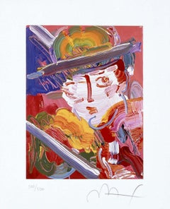 Abstract Zero, Ltd Ed Lithograph, Peter Max - SIGNED