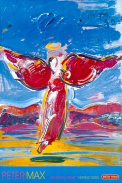 Ascending Angel, 2000 Offset Lithograph -SIGNED