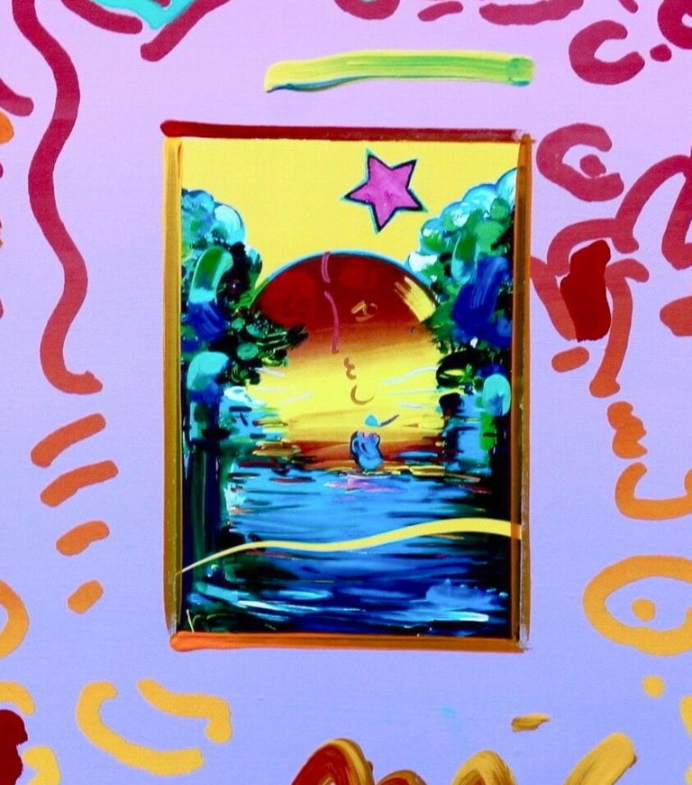 Better World - Print by Peter Max