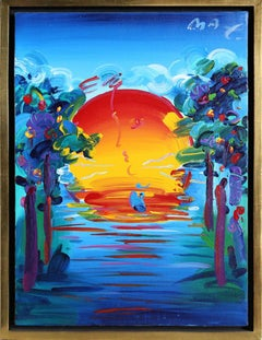 Better World II - Serigraph by Peter Max