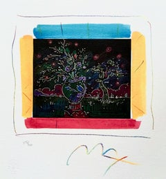 Dream I: The Blossoming, Limited Edition Lithograph, Peter Max - SIGNED