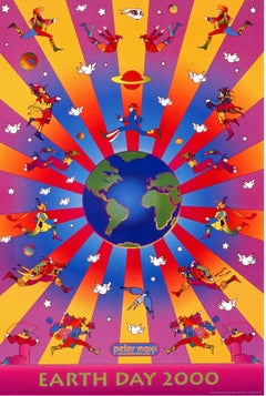 Earth Day, 2000 Event Offset Lithograph -SIGNED