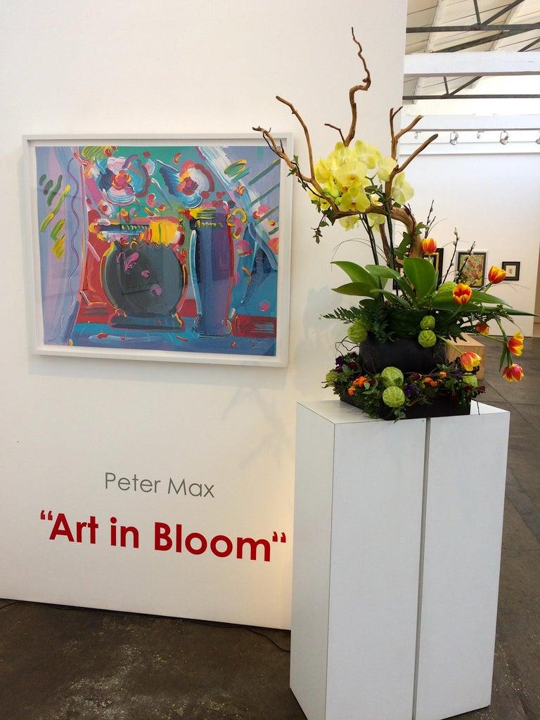 Flower Blossom III - Pop Art Print by Peter Max
