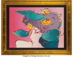 Flower Spectrum - Limited edition Lithograph by Peter Max