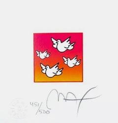 Flying Doves
