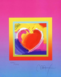 Heart On Blends II, Ltd Ed Lithograph, Peter Max - SIGNED