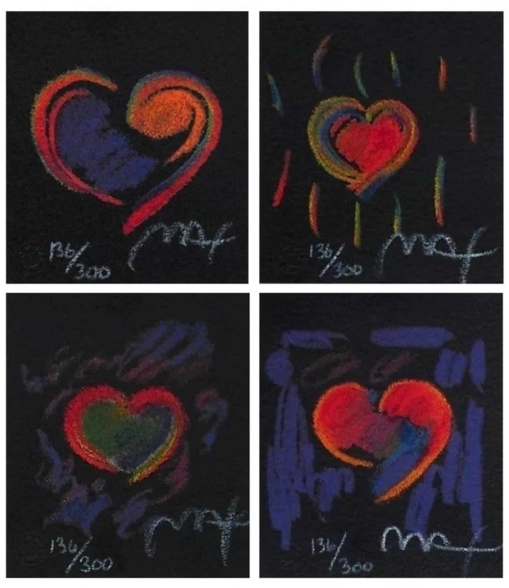 Heart Suite III, Four Artworks