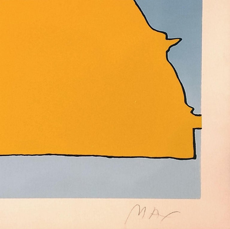 HIS OWN ECLIPSE - Print by Peter Max