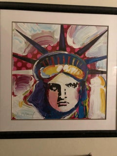 Liberty 2000 III - Limited Edition Lithograph by Peter Max