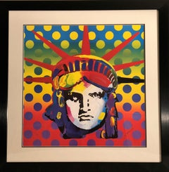 Liberty Head 2003 - Limited Edition Lithograph by Peter Max
