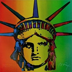 Liberty Head (Retro Suite I) Limited Edition Silkscreen Peter Max - SIGNED