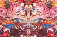 Midget's Dream, Signed Original 1967 Vintage Offset Lithograph Psychedelic