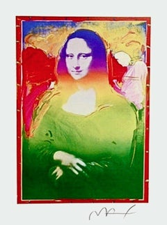 Mona Lisa II, Limited Edition Lithograph, Peter Max - SIGNED
