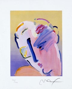 Neo Man In Love Ver. II, Ltd Ed Lithograph, Peter Max - SIGNED