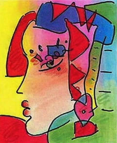 Profile Series IV, Limited Edition Lithograph, Peter Max - SIGNED