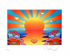Protect Our Children Ver. II, Ltd Ed Lithograph, Peter Max - SIGNED