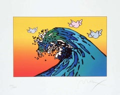 Protect Our Planet Ver. II, Ltd Ed Lithograph, Peter Max - SIGNED