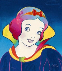 Snow White, Limited Edition Silkscreen, Peter Max - SIGNED