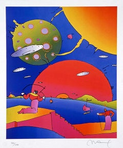 Year 2250 II, Limited Edition Lithograph, Peter Max - SIGNED
