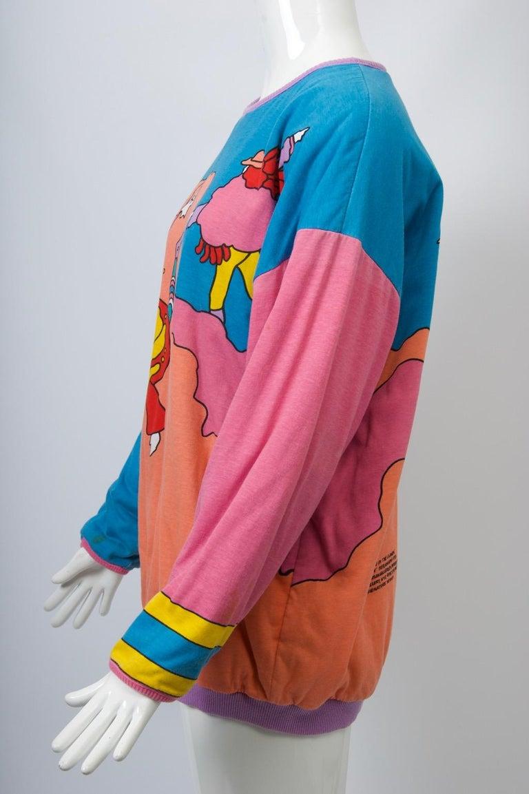 Peter Max Sweatshirt For Sale 2