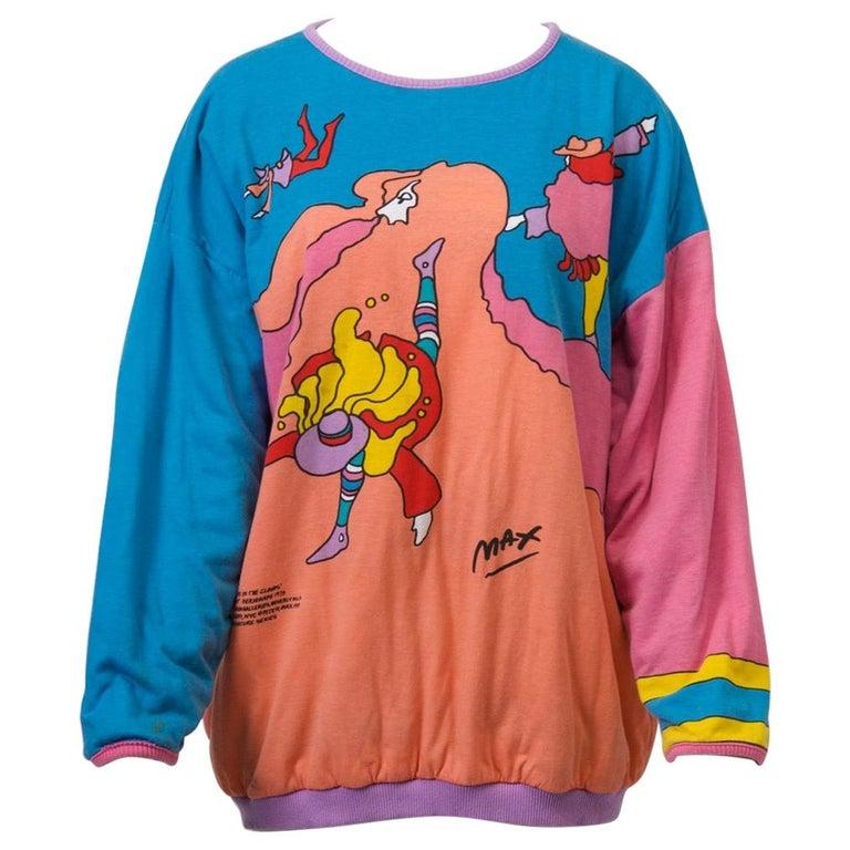 Peter Max Sweatshirt For Sale