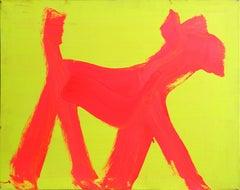 Dog Painting, Graffiti Art by Peter Mayer