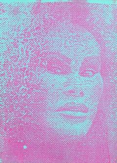 Jocelyn Wildenstein, Pop Art Portrait by Peter Mayer