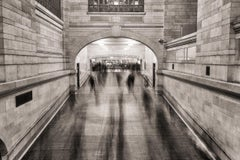 """Grand Central Ghosts,"" Urban Architectural Photograph, 30"" x 45"""