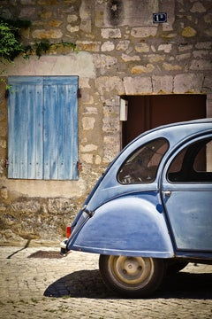 """Les Bleus,"" Contemporary Photograph, 60"" x 40"""