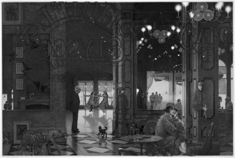 INTERIORS IV: HOTEL PARADISE CAFE.