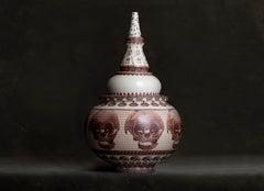 Jar with Skulls
