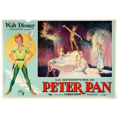 Peter Pan R1960s Italian Fotobusta Film Poster