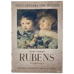 Peter Paul Rubens Masterpieces, Meisterwerke der Malerei by Georg Pudelko, 1942