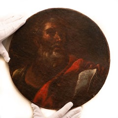 An Apostle Painted in the Circle of Peter Paul Rubens, Oil on Canvas