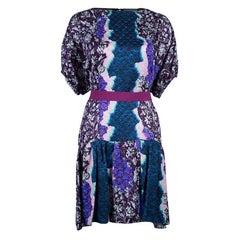 Peter Pilotto Multicolor Printed Roamer Short Dress M