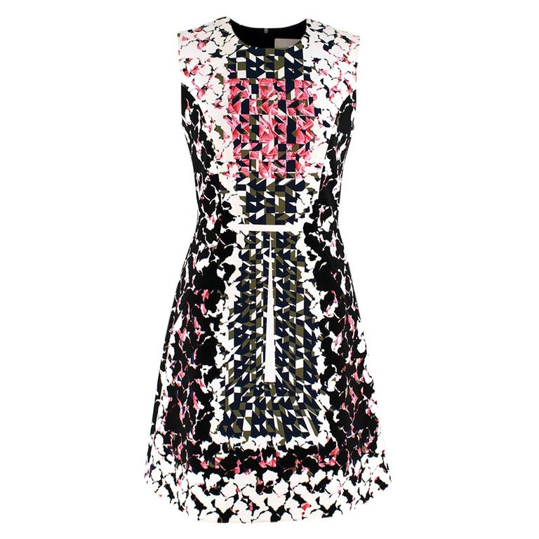 Peter Pilotto Pattern Shift Dress SIZE 8 UK For Sale