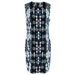 Peter Pilotto Patterned Sleeveless Shift Dress - Size US 10