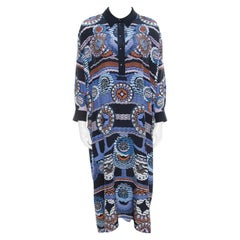 Peter Pilotto Silk Digital Abstract Printed Kaftan Maxi Dress ( One Size )