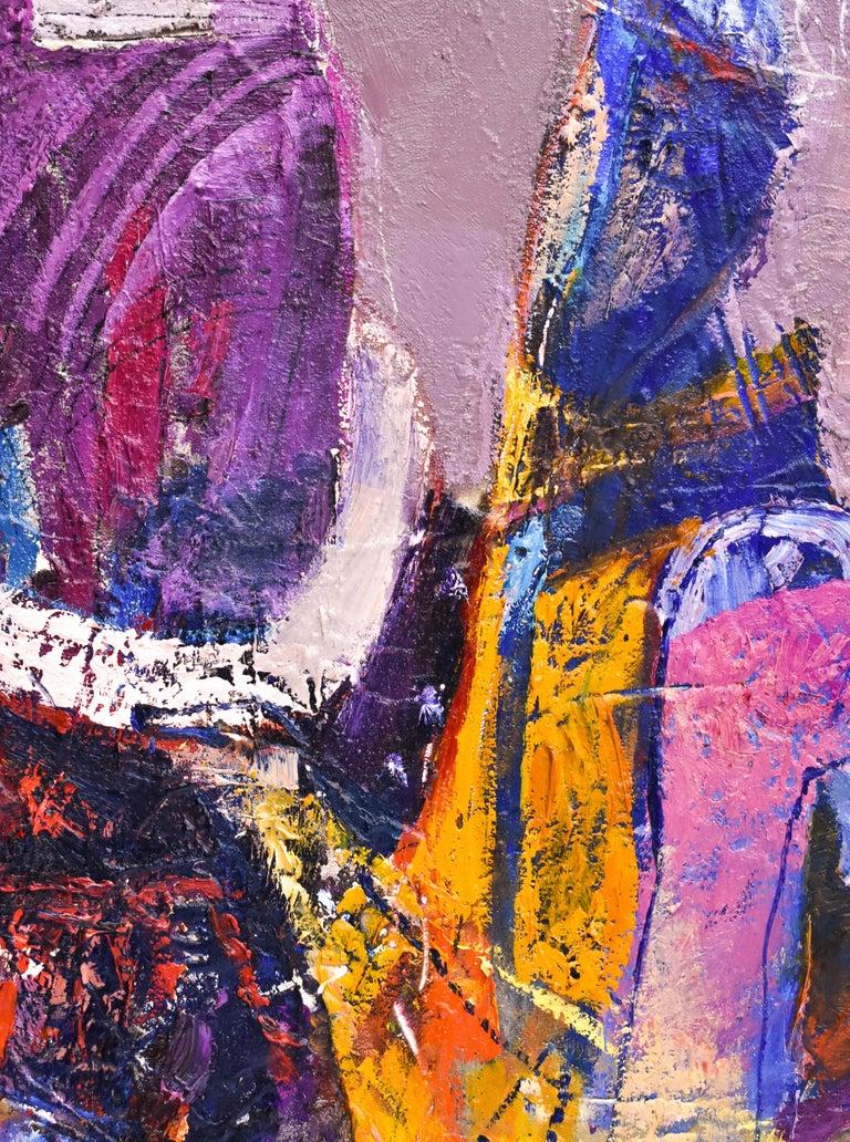Preteky s Pegasom - Triptych- Peter Pollág - Original artwork For Sale 11