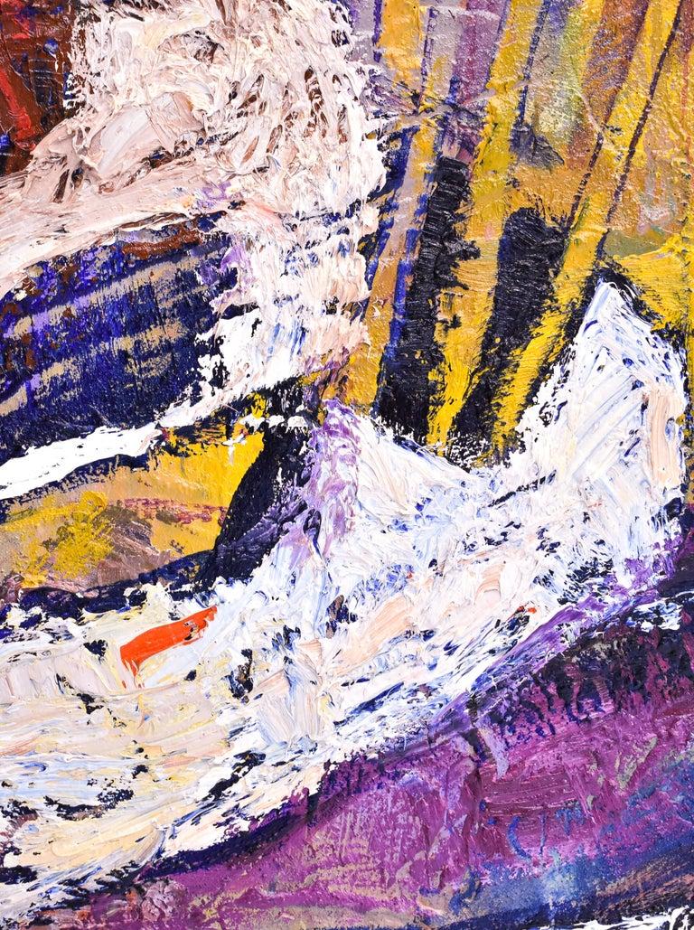 Preteky s Pegasom - Triptych- Peter Pollág - Original artwork For Sale 12