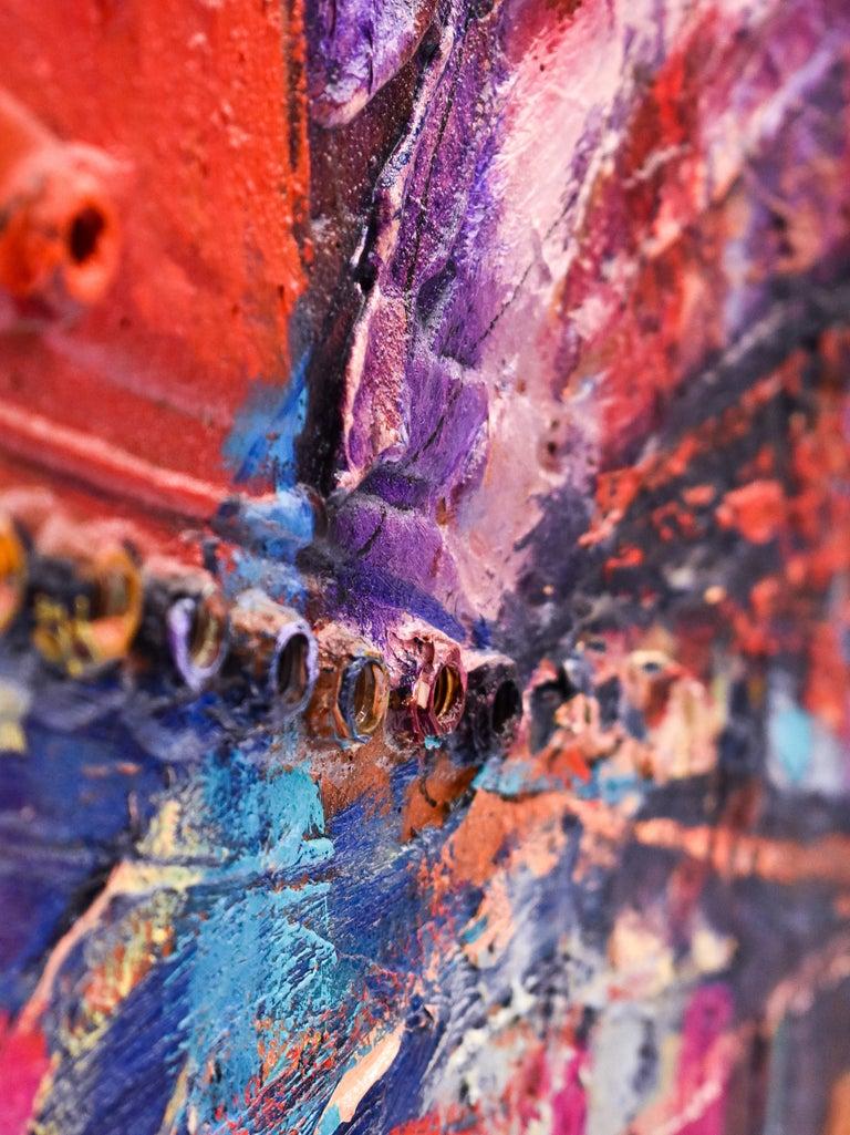 Preteky s Pegasom - Triptych- Peter Pollág - Original artwork For Sale 13