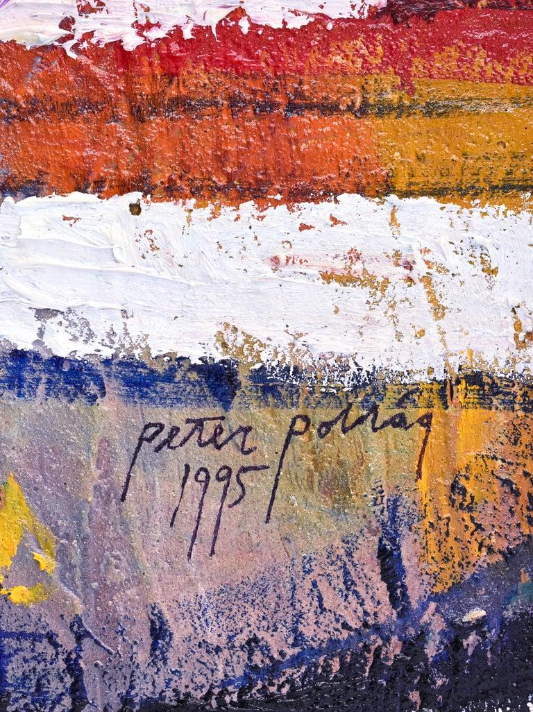 Preteky s Pegasom - Triptych- Peter Pollág - Original artwork For Sale 14