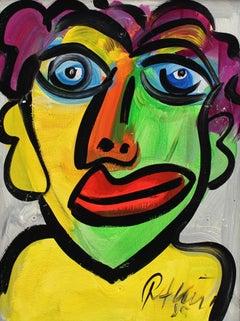 Portrait of Smiling Figure