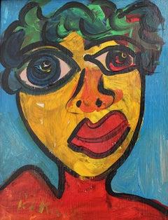 Portrait of Woman in Berlin