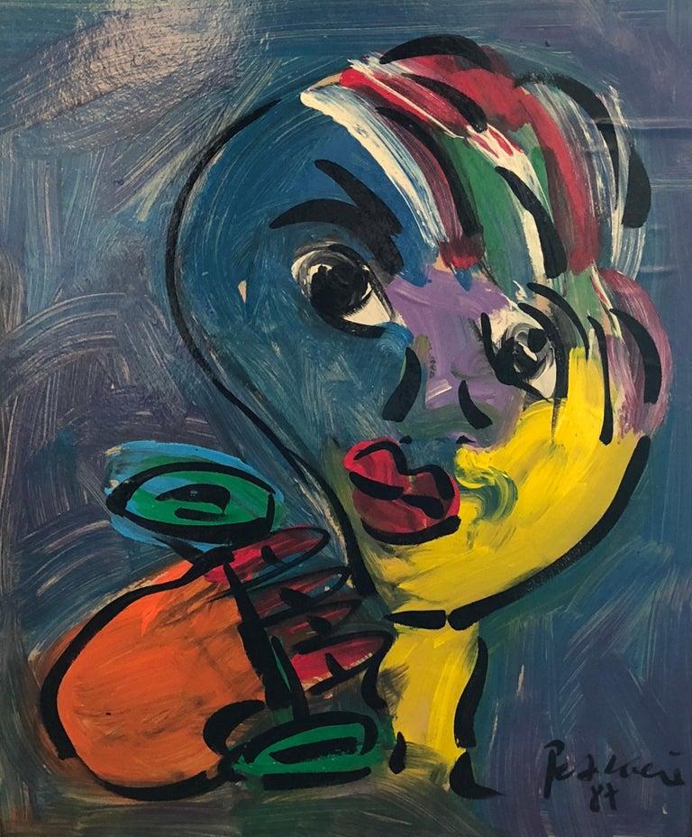 Peter Robert Keil Figurative Painting - Untitled