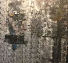 Harbour. Contemporary Mixed Media Painting