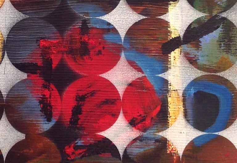 Abacus: Mixed Media Contemporary Painting by Peter Rossiter For Sale 2