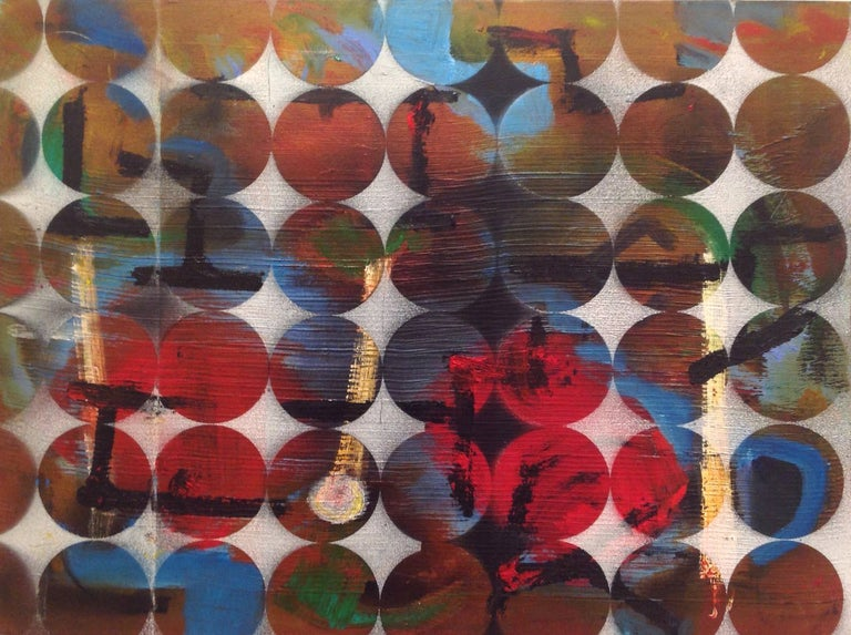 Abacus: Mixed Media Contemporary Painting by Peter Rossiter For Sale 3