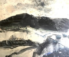 Croesor Valley. Contemporary Welsh Abstract Expressionist Landscape Painting